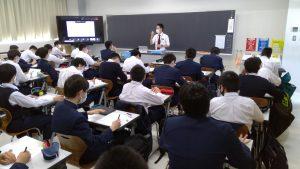 中学校3年生、総合学習スタート!